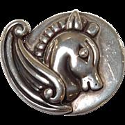 Los Castillo Sterling Horse Pin