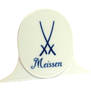 Meissen Store Display 3 Inches
