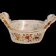 Enameled Opaline Bowl