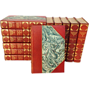 Macaulay's Complete Works Half Leather 12 Volume Set