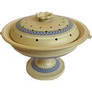 Staffordshire Patent Mosaic Covered Compote c.1860