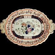 Ironstone Platter Mason's C. 1840