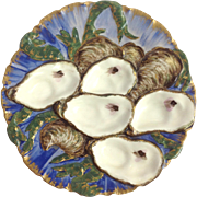 Haviland Turkey Oyster Plate 19th c. Limoges