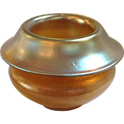 Chech Art Glass Iridescent Vase Loetz