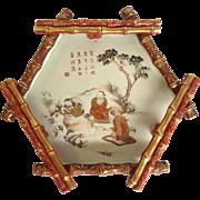 Japanese Kutani Tray Bamboo Gallery