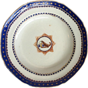 Chinese Export Dish Circa 1790