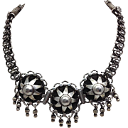 North African Silver Necklace