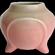 Rookwood Pink Three Leg Vase Dated 1927