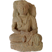 Gandahar Stone Carving of Buddha