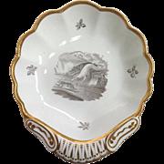 Spode Hounds Shell Dish Circa 1820