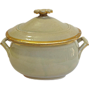 Wedgwood Drabware Sugar Bowl Circa 1825