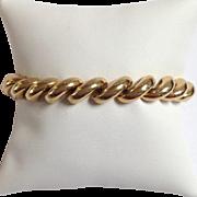 San Marco Link Bracelet 14 Karat Gold