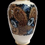 Sevres Art Deco Floral Vase H. Lasserre Circa 1923