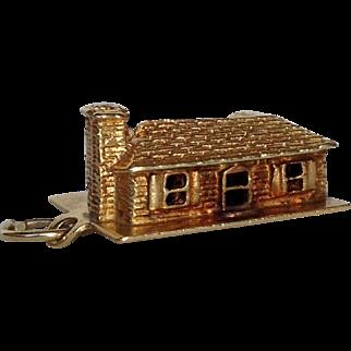 House Charm 14 Karat Gold