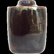 Bing and Grondahl Brown Vase Denmark