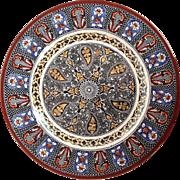Wedgwood Indian Plate Circa 1905