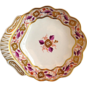 Spode Foliate Shell Pattern 889 Serving Dish c. 1810