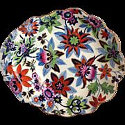 Spode Floral Shell Dish Circa 1820