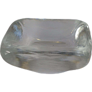 Orrefors Moderne Crystal Glass Bowl