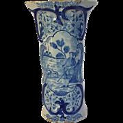 "Tall Delft Vase Dutch Early 10"""