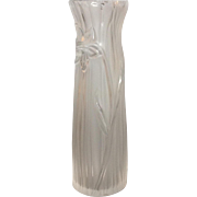 """Lalique Daffodil 10"""" Vase Tall"""