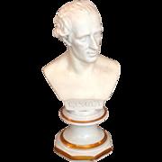 Antique Porcelain Bisque Bust