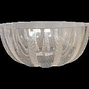 "Lalique Ceres Bowl Wheat Pattern 8"""