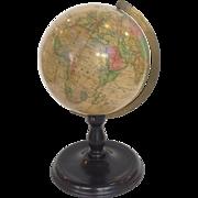 Joslin's Terrestrial Globe Boston Circa 1870