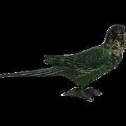 "Small Vienna Bronze Parrot 1.45"""