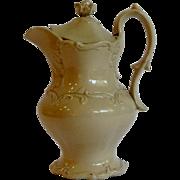 "Drabware Ceramic Pitcher 7.5"" Circa  1850"