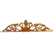 "Gilt Wood Fragment Antique 19"""