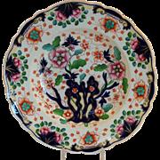 Antique English Plate Floral Circa 1830