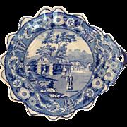 Pearlware Dessert Shell 'Ciala Kavak' Ridgeway