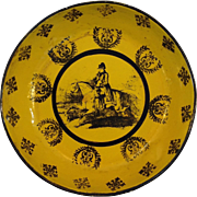Napoleon Toleware Bowl Bright Yellow 7.75""