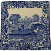 Spode Tile Trivet Italian Pattern Circa 1900