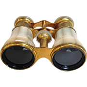 French Mother of Pearl Opera Glasses Paris 19th c