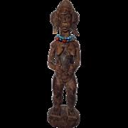 Baule African Female Figure Circa 1970's