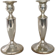 Pair of Towle Sterling Candlesticks 7""