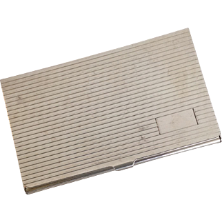"""Card Case Sterling Business 3.75"""""""