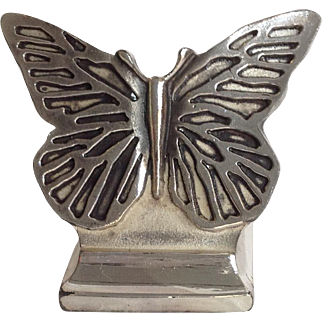 Christofle Place Card Holders Butterfly