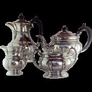 English Sterling Coffee and Tea Set Sheffield