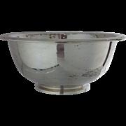 "Gorham Bowl Sterling Hammered Sterling Irish Reproduction 7"""