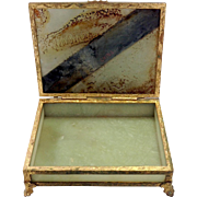 Chinese Serpentine Box Circa 1920