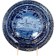 "Staffordshire Clews 10"" Plate Circa 1825"