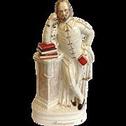 Large Antique Staffordshire William Shakespeare