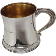 Tiffany Sterling Child's Cup Circa 1890