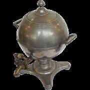 Antique Dutch Pewter Tea Urn