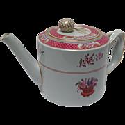 Spode Lord Calvert Pink Porcelain Teapot