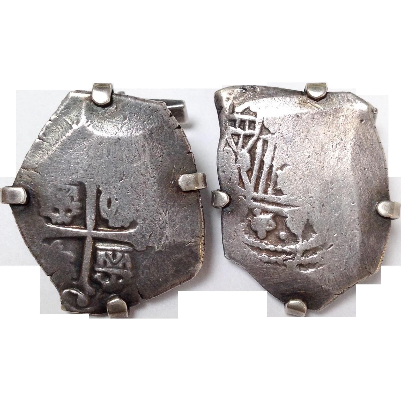 Vintage coin cufflinks