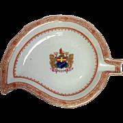 Mottahedeh Heraldic Leaf Dish